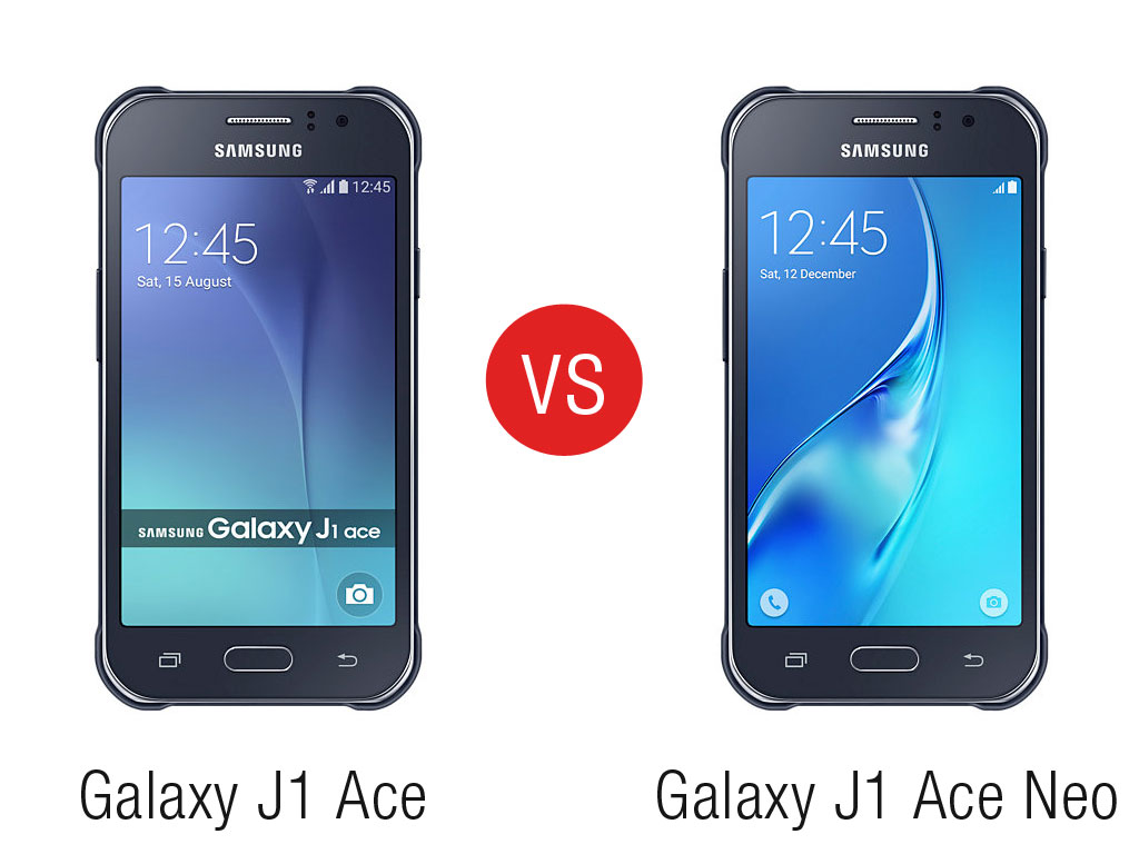 Phone Comparison: Samsung Galaxy J1 Ace vs Samsung Galaxy J1 Ace Neo