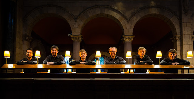 The Gesualdo Six (Photo Tom Gradwell)