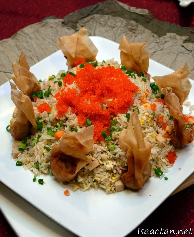 Yong Chow Fried Rice with Tobiko