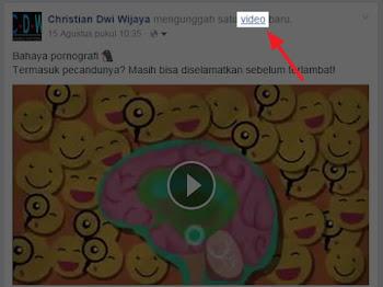 Cara Menambahkan Video dari Facebook ke Blog