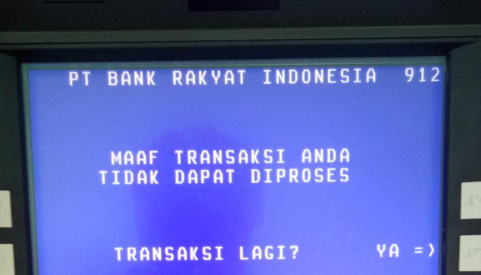 Sejumlah ATM di Libureng Kehabisan Uang Jelang Lebaran