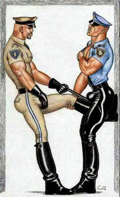 gay cops videos