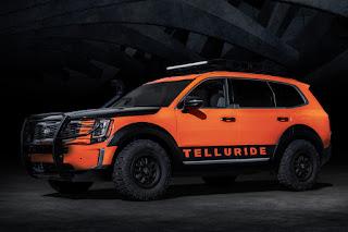 Kia Telluride Horizon Roamer (2020) Front Side