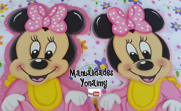 Manualidades Yonaimy Moldes De Mickey Mouse Bebe Imgurl