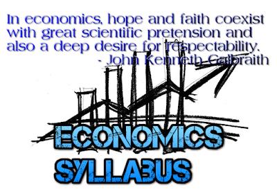 CBSE Class 11 Economics  -Syllabus (2017-18) (#cbseNotes)