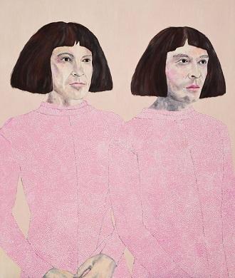 """The Huxleys"" by Sally Ross | Archibald Prize 2018 Finalist | creative emotional paintings, cool stuff, pictures, deep feelings, sad | obras de arte contemporaneo, cuadros, imagenes de pinturas tristes bonitas | peintures, pitturas"