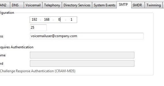 Avaya IP Office Tips: How to Configure SMTP on Avaya IP Office