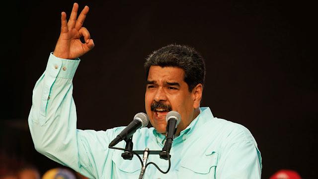 """Maduro asegura que tomaría las armas si llega un gobierno que """"entregue las riquezas a los gringos"""""""