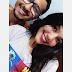 Naiara Trindade parabeniza seu namorado Caio Soares