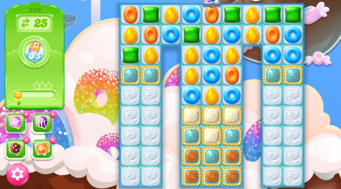 Candy Crush Jelly Saga 229