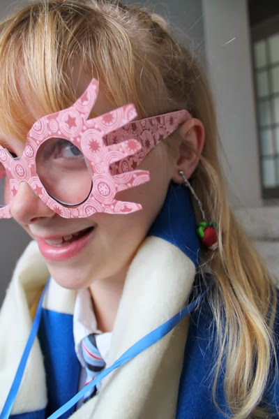 picture regarding Luna Lovegood Glasses Printable identified as Harry Potter Do it yourself Luna Lovegood Dress (An uncomplicated how towards