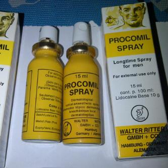 Procomil Spray Obat Oles Tahan Lama