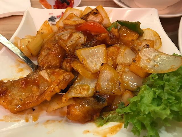 Lao Huo Tang - Sweet & Sour Sliced Fish