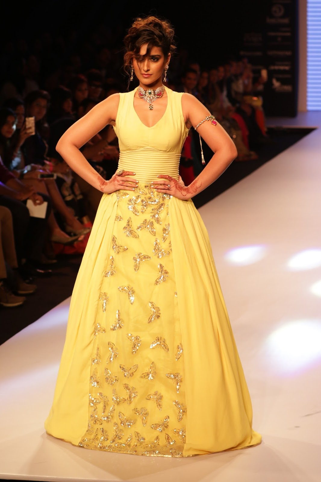 Ileana Ramp Walk Stills at IIJW 2015-HQ-Photo-28