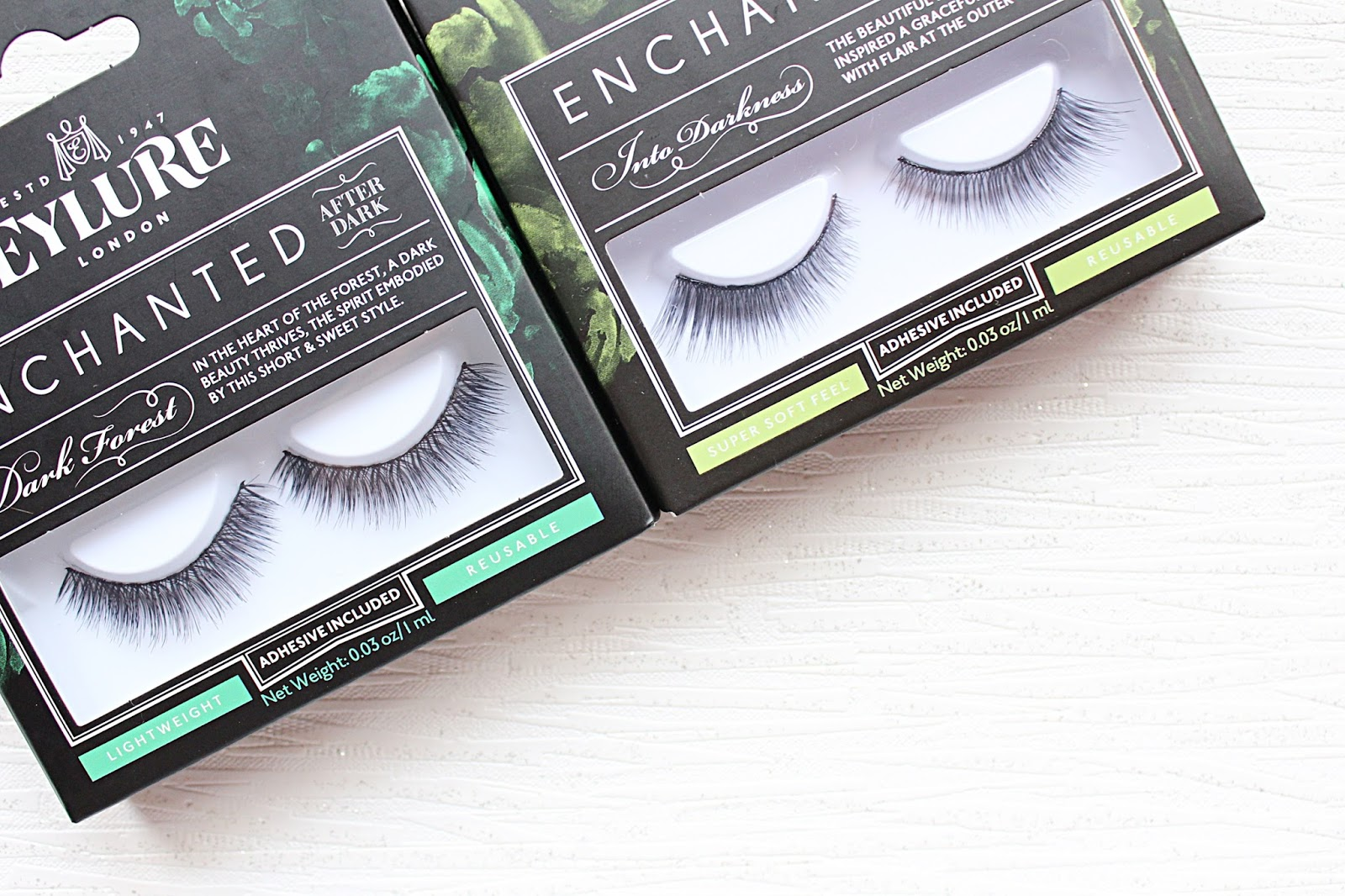 9bbd1718955 Eylure Enchanted After Dark Lash Collection | Hannah Heartss