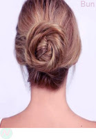 Bun hairstyle,