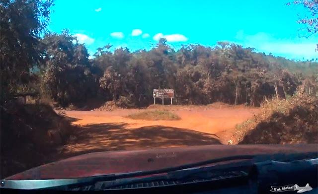 Alvorada de Minas, Itapanhoacanga, Caminho dos Diamantes, Estrada Real, MG-010, trevo