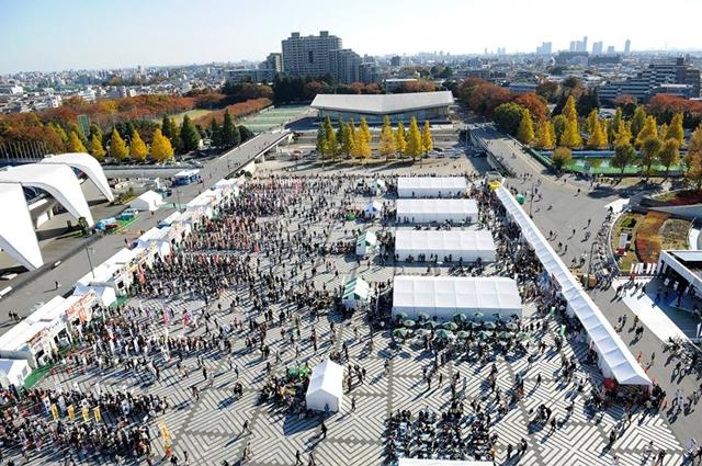 Tokyo Ramen Show 2017, at Komazawa Olympic Park, Tokyo