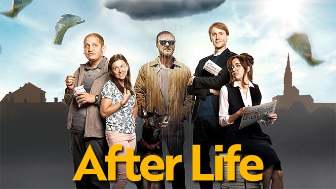 After Life: Más allá de mi mujer (2019) Temporada 1 Web-DL 1080p Latino-Ingles