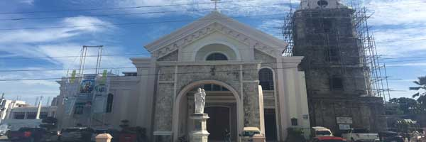 Popular church in tagbilaran city bohol Philippines 2018