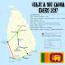 Viaje de 10 días a Sri Lanka. La ruta realizada