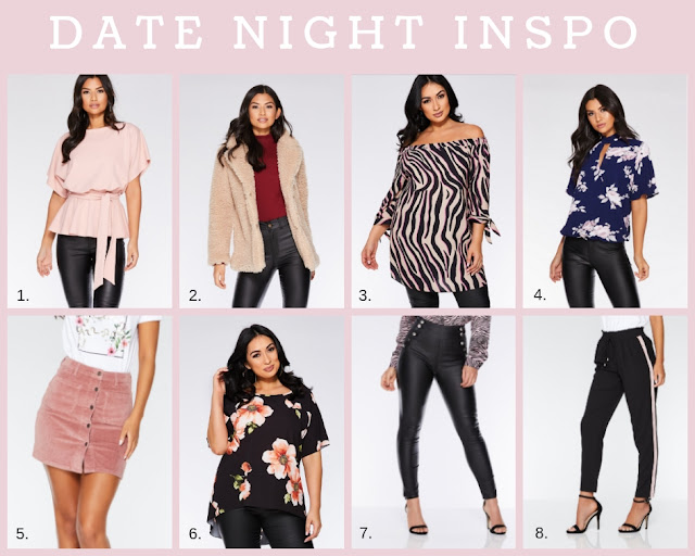 Valentines Fashion Inspo Guide - Going Out Dresses & Date Night Dresses at Quiz, Lovelaughslipstick Blog
