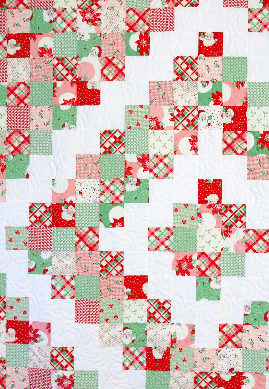 A Bright Corner Diamond Patchwork Quilt Tutorial