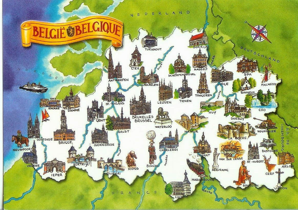 10 Best Places to Holiday in Belgium (100+ Photos) | Map of Belgium.