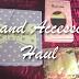 Brand Accessory Haul