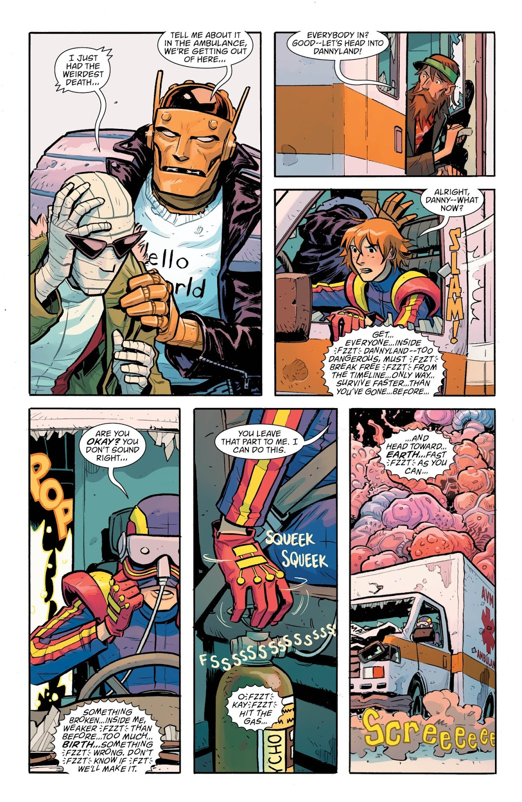 Weird Science Dc Comics Doom Patrol 6 Review And Spoilers