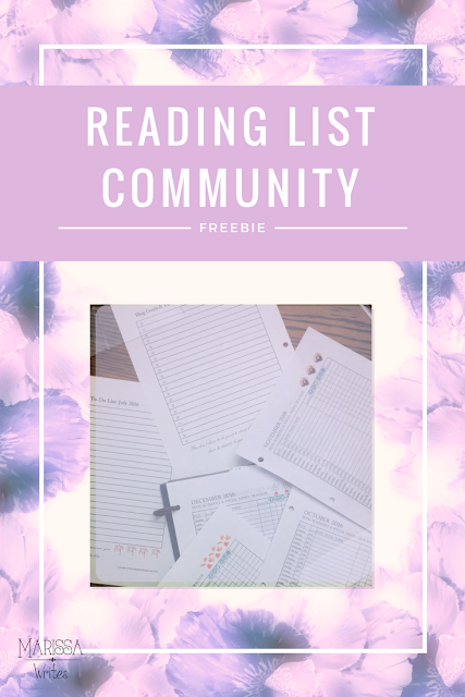 2017 Monthly Blogging Calendar - free to Reading List Community members!