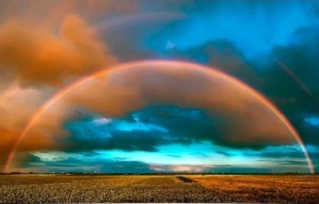 real rainbow wallpaper - photo #22