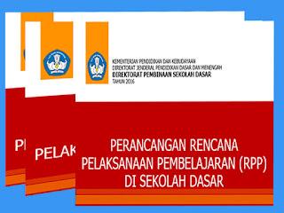 Materi Pembinaan/Diklat Kurikulum 2013 tentang Perancangan RPP SD  Tahun 2016 ppt