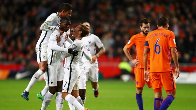 [Video] Cuplikan Gol Belanda 0-1 Prancis (Kualifikasi Piala Dunia 2018)