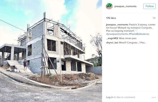 Paolo Ballesteros' Dream Mansion Is Almost Complete! Check It Out Here!