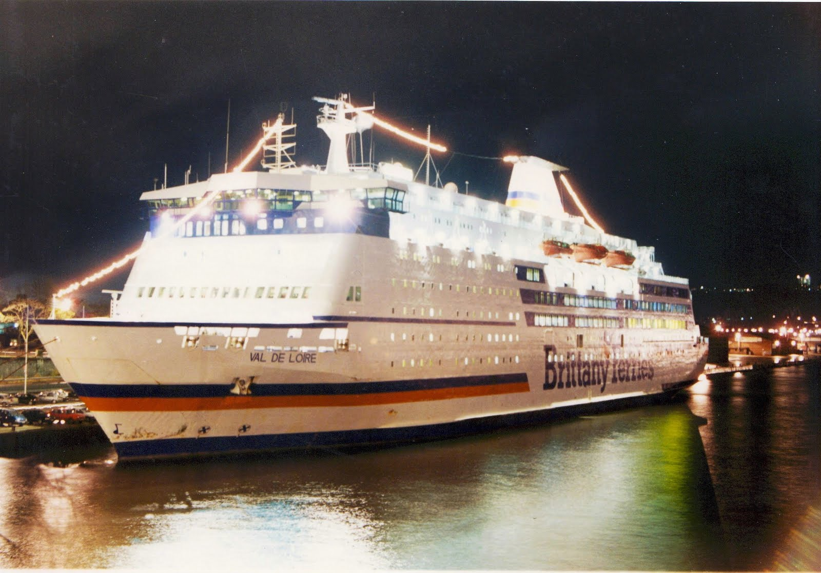 """Portsmouth To Le Havre >> BRITTANY FERRIES: THE MUCH LOVED """"VAL DE LOIRE"""""""