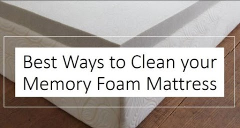 How Do You Clean and Disinfect a Memory Foam Mattress?