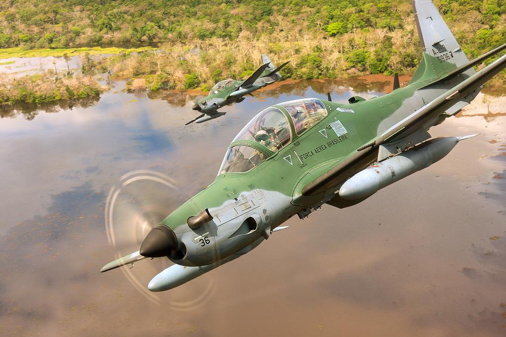 Sekilas Tentang A-29 Super Tucano