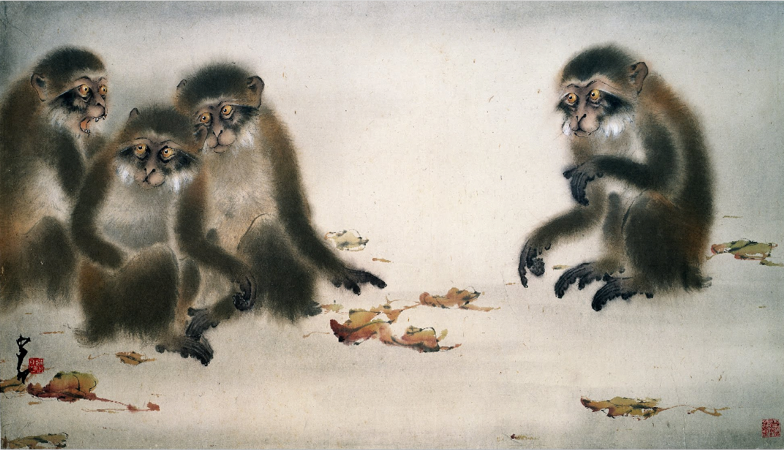 Monkeys Chao Shao-an