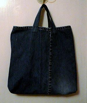 Sacola Ecológica Jeans