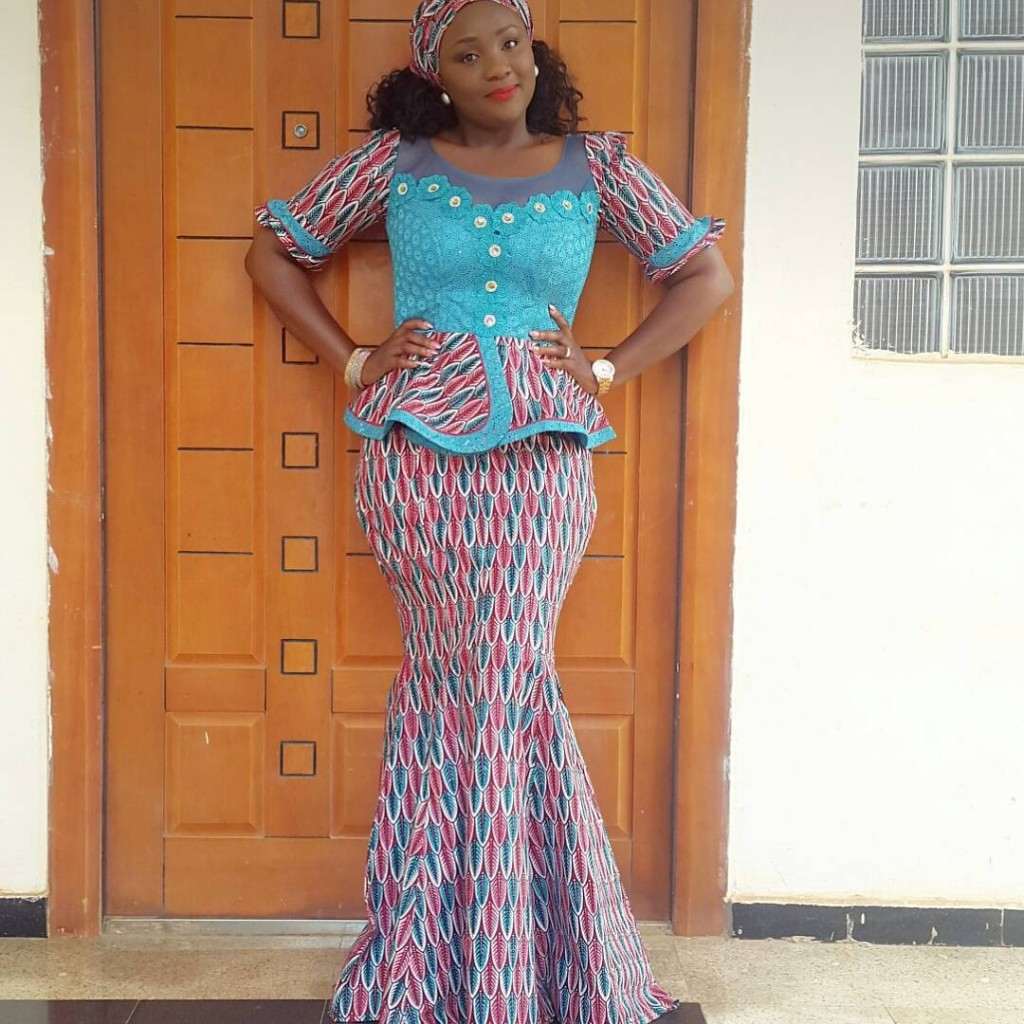 Ankara Blouse And Skirt 48
