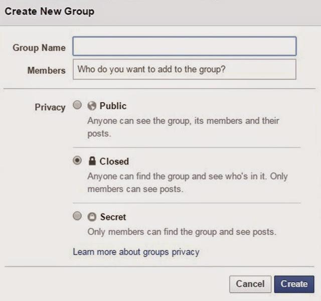 facebook crear un grupo