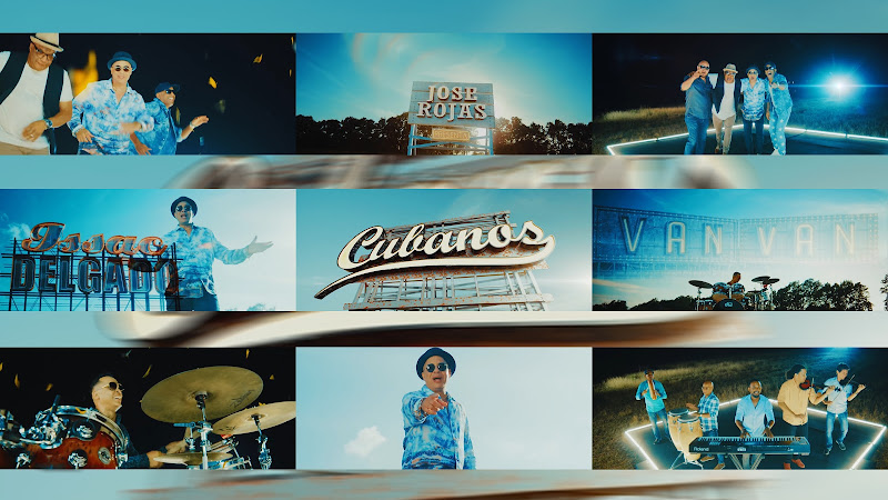 Issac Delgado y Los Van Van - ¨Cubanos¨ - Videoclip - Dirección: Jose Rojas. Portal del Vídeo Clip Cubano