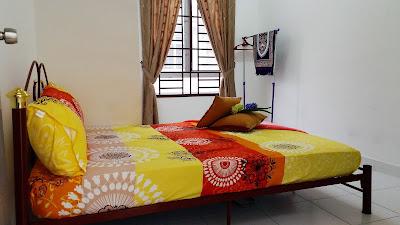 Bilik Tidur Ketiga Homestay di NusaJaya Johor Bahru