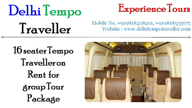 16 seater tempo traveller