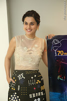 Taapsee Pannu in transparent top at Anando hma theatrical trailer launch ~  Exclusive 076.JPG
