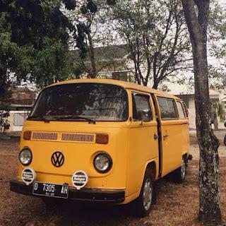 VW Kombi 1977 Akhir...Kuning Kinclong Menantang