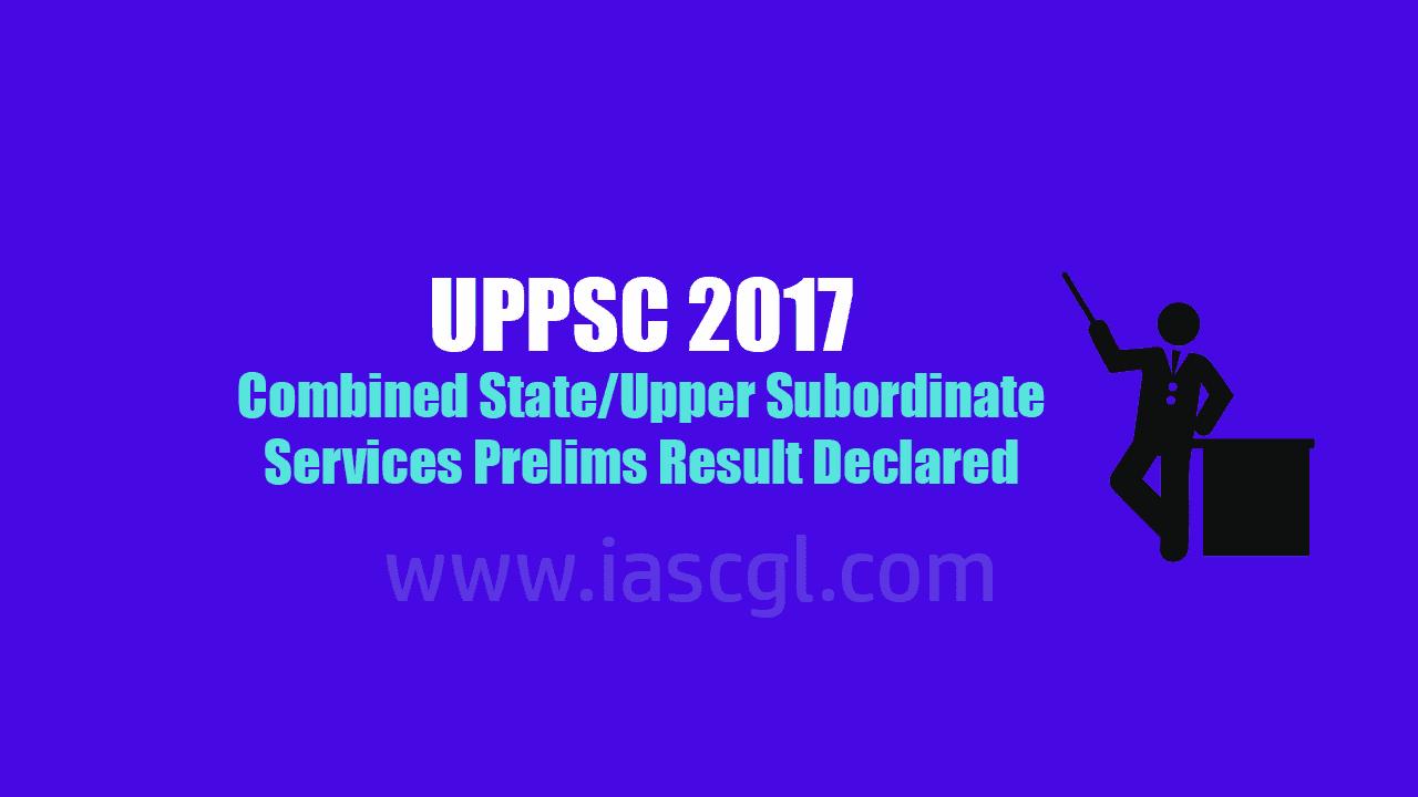 UPPSC Prelims Result Declared