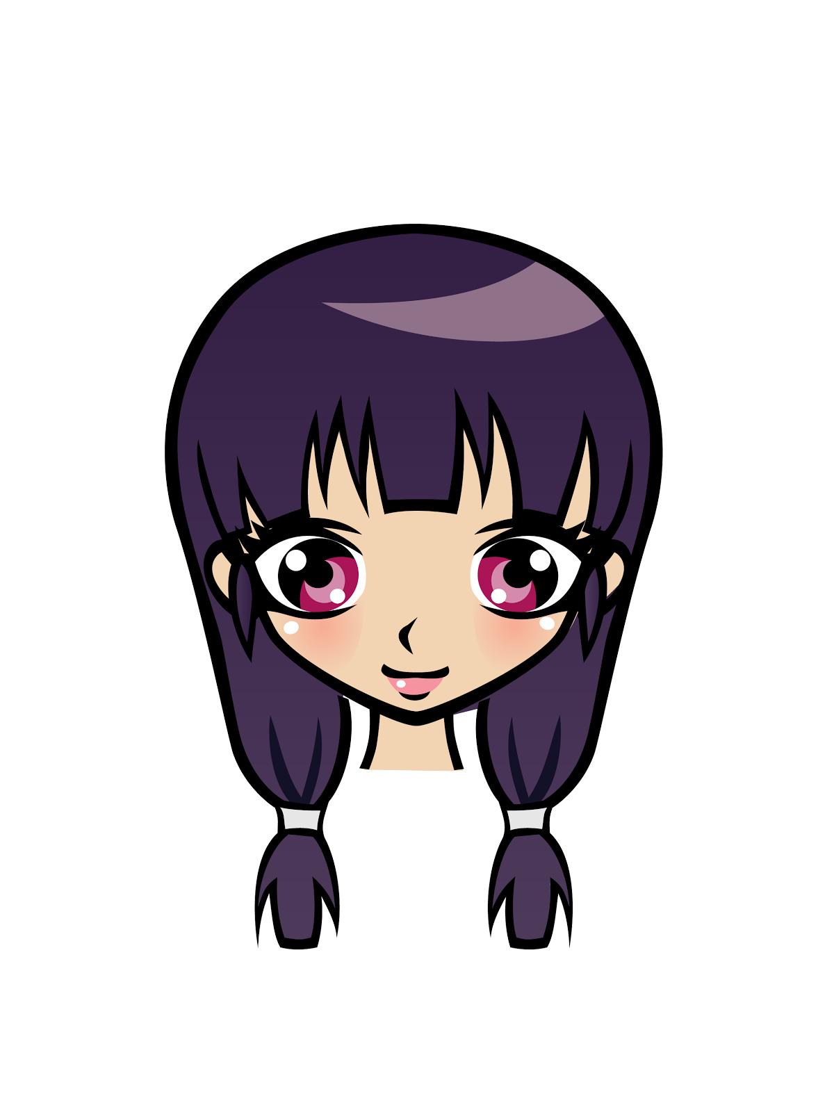 Cute Clipart 20 Free High Resolution Cute Manga Girls -5223