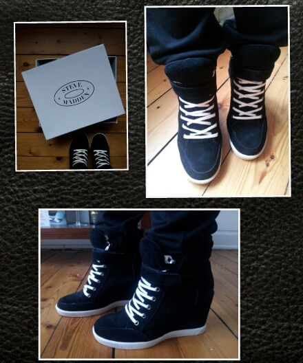 503eaf65789 My Retail Therapy  SOTD - Steve Madden Wedge Sneakers